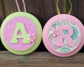 Nursery Wall Hanging Personalized Letters or Name for Baby, Child Room Decor Any Color or Theme