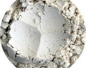 White shimmer eyeshadow, mineral eye shadow, eye highlight, mineral makeup, natural cosmetics, inner eye color, Pearl,  white pigment