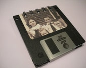 Grumpy Old Kids Floppy Disk Notepad and Post It Note Holder