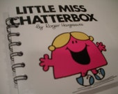 Little Miss Chatterbox Recycled Notepad