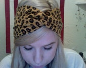 Back by Popular Demand- Leopard Print Turband Twist- Turban Headband