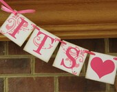 It's A Girl Banner, Baby Shower, Birth, Announcements with Your Custom Colors