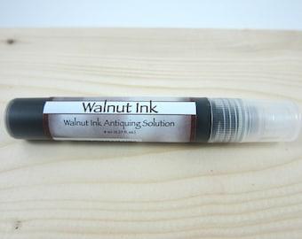 Walnut Ink Antiquing Solution - 8 ml spritzer bottle - Walnut color