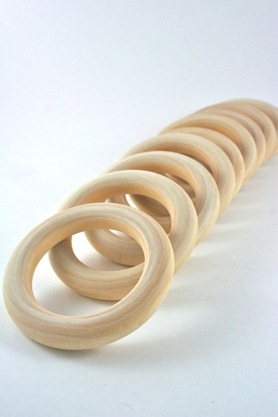 10 wood rings 3 inch unfinished wooden rings for waldorf for How to make a wooden ring