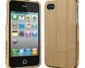 Bamboo Wood iPhone 4/4s case, Bamboo iPhone 4 / 4S Case, iPhone 4S case,