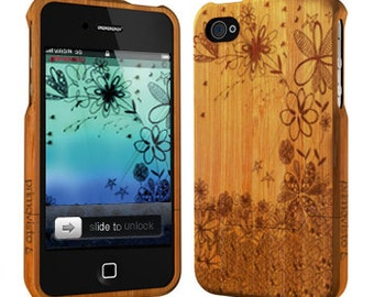 Flowers - Bamboo iPhone 4 / 4S case
