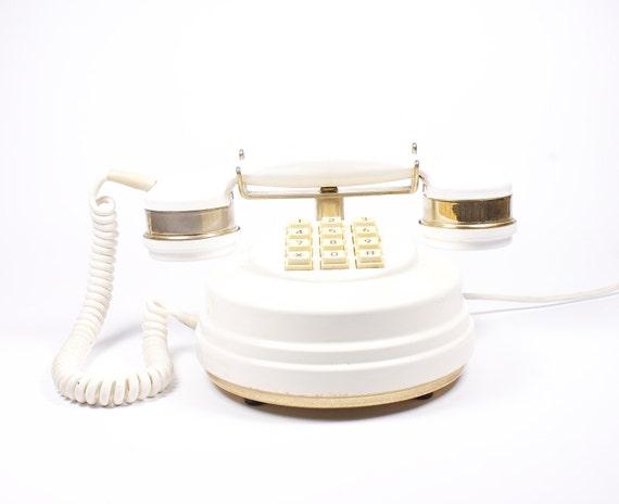 Vintage Ivory gold phone