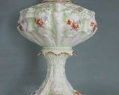 Ornate Victorian Style Footed Compote