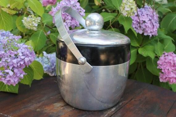 Vintage Kromex Aluminum Ice Bucket