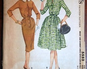 Vintage Dress McCall's 5552 Size 18 Bust 38