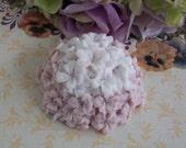 Mauve & white Hydrangea Soap