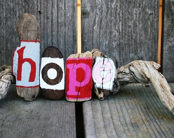 HOPE Driftwood Art (Made to Order)