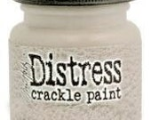 SALE Antique Linen Distress Crackle Paint Tim Holtz Ranger