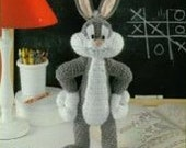 40% SALE Bugs Bunny Amigurumi Pattern : INSTANT DOWNLOAD