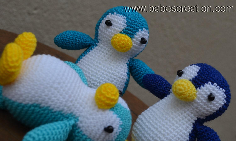 Amigurumi Penguin Crochet : Penguin amigurumi pattern instant download by babescreation