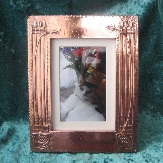 Mackintosh Photo Frame, Handmade in Copper
