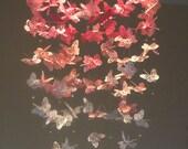 Pretty in Pink - Monarch Butterfly Chandelier mobile