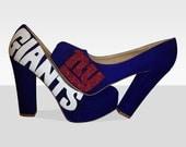New York Giants Champions High Heels