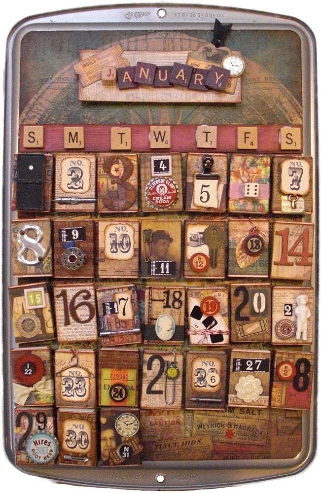 Perpetual Calendar Vintage : Vintage perpetual calendar
