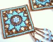 Beaded Applique, Applique for Fashion Accessories,Home decor,Handbags,Jewelry Design.