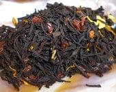 1 oz - Persephone's Pomegranate Blend - Black tea with Pomegranate and Vanilla.