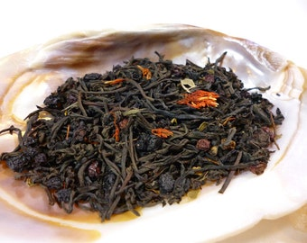 Tea Sample - Midnight Forest - Black tea - Elderberry - Faerie