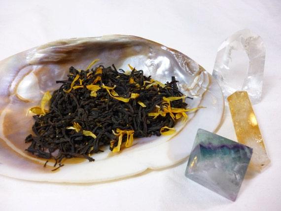 1oz Paradise Lost - Black Coconut Loose Leaf Tea - Dryad Tea