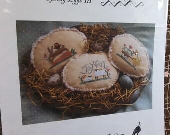Cross Stitch 'Spring Eggs III' by Homespun Elegance