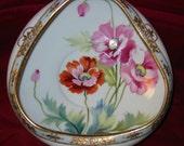 Nippon Hand-Painted Triangular Bowl