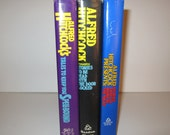 Vintage Alfred Hitchcock Books Set of Three