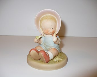 Luck at Last He Loves Me, A Memories of Yesterday Figurine (No 520217) (Retired)