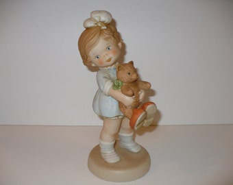 "Time For Bed, A 10-1/2"" Memories of Yesterday Figurine (No 523275) (Retired)"
