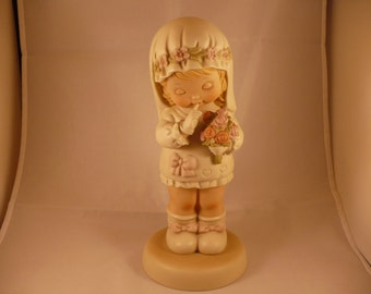 """Here Comes The Bride God Bless Her, A 10"""" Memories of Yesterday Figurine (No 520527) (Retired)"""