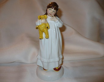 And So To Bed, A Royal Doulton Figurine (No HN 2966) (Retired)