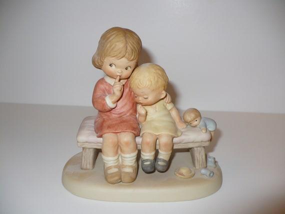 Hush A Memories of Yesterday Figurine (No 114553) (Retired)
