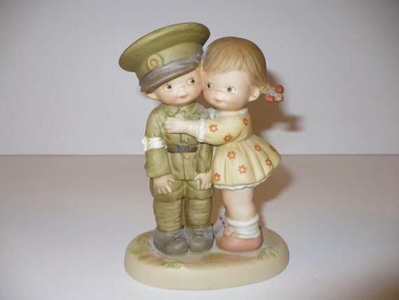 You'll Always Be My Hero, A Memories of Yesterday Figurine (No 524743) (Retired)