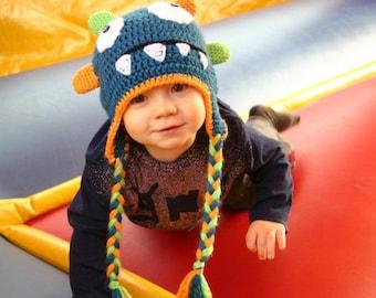 PDF Little Monster Hat Pattern