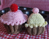 Cupcake Pincushion and Tape Measure Cozy CROCHET PATTERN