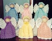 CROCHET PATTERN Angels Home Decor Pastel Angels