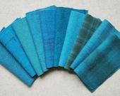 Mary Flanagan Textured Felted Wool Bundles: Blue Spark