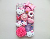 Hello Kitty Kawaii Pink iPhone 4/4s Cell Phone Case