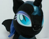 CHIBI Nightmare Moon MLP Hand-Made Custom Craft Plush