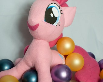 Pinkie Pie, Made-To-Order, Plush, MLP, FiM, Soft, Fleece, Cute