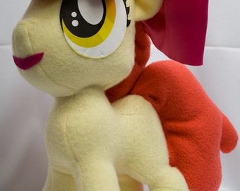 Apple Bloom, Made-To-Order, Plush, MLP, FiM, Soft, Fleece, Cute