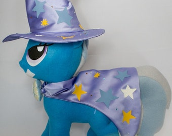 Trixie, Made-To-Order, Plush, MLP, FiM, Soft, Fleece, Cute