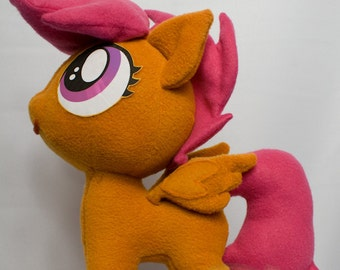Scootaloo, Made-To-Order, Plush, MLP, FiM, Soft, Fleece, Cute