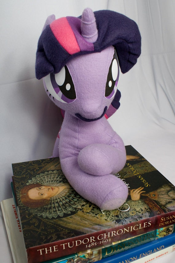 Twilight Sparkle, Made-To-Order, Plush, MLP, FiM, Soft, Fleece, Cute