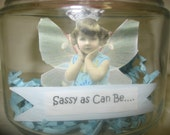 Nina's Fairy Girls in a Jar The Sassy as Can Be Fairy