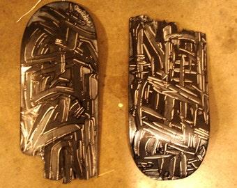 Galvanize and Invigorate - Broken Skateboard Painting.
