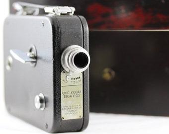 Eastman Kodak Vintage Motion Picture 8mm Camera Cine-Kodak Eight-25